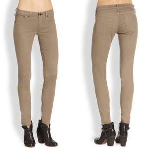 rag and bone Beige Skinny Jeans, 26